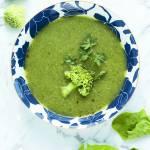 Krem z zielonych warzyw – post dr Dąbrowskiej