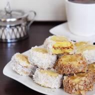 Wegańskie ciasteczka warszawskie – słoneczka