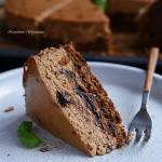 Sernik bananowy z czekoladą na melasie