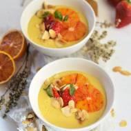 Wegański pomarańczowy budyń jaglany