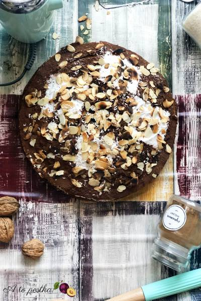 Fit ciasto marchewkowe z kremem kokosowym