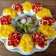 Paprykowe jajeczka faszerowane