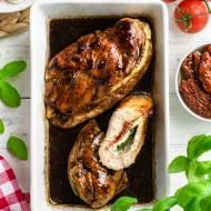 Faszerowany kurczak caprese (7 składników)