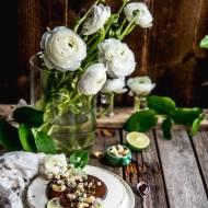 Limonkowe ciasto z nerkowców | Wegański sernik na zimno