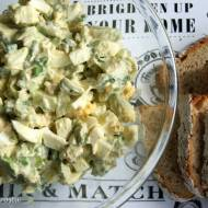 Pasta jajeczna z awokado i szczypiorkiem