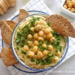 Hummus z topinamburem (Hummus di topinambur)