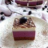 Ciasto winogronowe z czerwonym winem