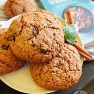 Owsiane ciasteczka z cynamonem i recenzja książki - Kuchnia wegańska, przewodnik po produktach zastępczych.