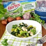 Potrawka Matki Naury - indyk z zielonymi warzywami