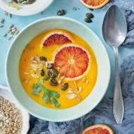 Zupa dyniowo-marchewkowa z pomarańczą