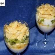 Jogurtowy Deser z Bananami i Kiwi