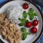 Kurczak w sosie orzechowym - błyskawiczny i pyszny obiad