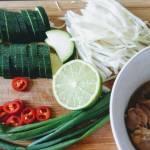 Stir-fry z kapustą i kurczakiem