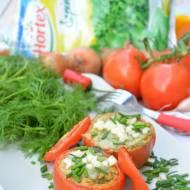 Faszerowane pomidory szpinakowym koglem-moglem