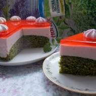 Szpinakowe ciasto z pianką
