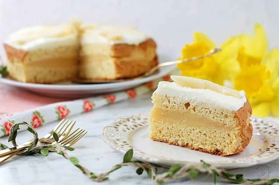 Ucierane Ciasto Jabłkowo - Gruszkowe