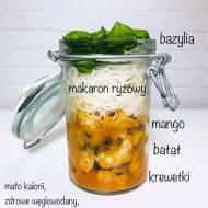 Piątek: Curry z krewetkami i mango