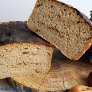 Chleb pytlowy z dodatkiem mąki pszennej i prażonej cebulki