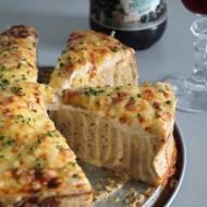 Zakręcany tost z serem i szynką