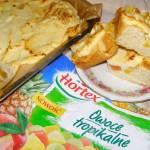 ciasto drożdżowo-serowe z owocami tropikalnymi...
