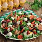 Sałatka z jajem i buraczkami