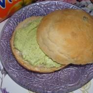 Zielona pasta jajeczna na śniadanko