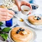 Biszkoptowe pancakes w wersji xxl