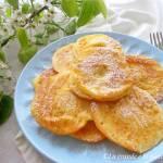 Pieczone placuszki z jabłkiem (Frittelle di mele al forno)