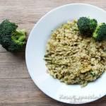Risotto z brokułami