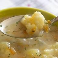 Zupa kalafiorowa z koperkiem