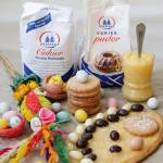 Cytrynowy mazurek i kruche ciasteczka z cytrynowym kremem - idealne na wielkanocny stół