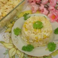 Sałatka z szynką i ananasem – zwana hawajską