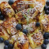 Twarogowy omlet cesarski