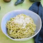 Spaghetti z sosem brokułowym