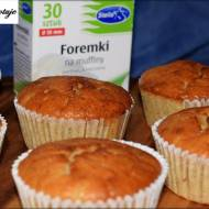 Muffiny Czekoladowo - Bananowe