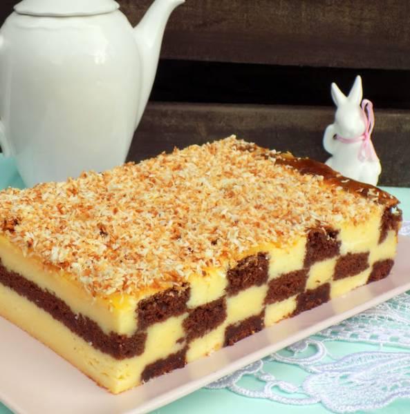 Przepis Na Sernik Szachownica Domowa Cukierenka Domowa Kuchnia