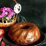 Wilgotna babka serowo-czekoladowa
