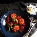 Pulpety z cukinią w pomidorowym sosie z wolnowaru
