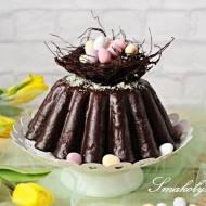 Babka waniliowo-czekoladowa z gniazdkiem