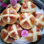 Hot cross buns – bułeczki wielkanocne