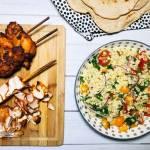 Wtorek: Kebab z kurczaka – domowa wersja