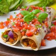 Meksykańska enchilada z kurczakiem