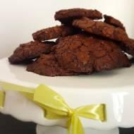Mocno czekoladowe ciastka brownie