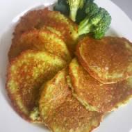 Placuszki brokułowe-ziemniaczane