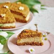 Tort marchewkowy z masą budyniową