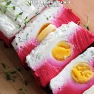 Terrina buraczana z jajkiem (na jogurcie greckim)