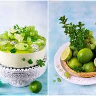 Torcik limonkowo-miętowy na zimno / Lime-mint cake cold