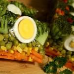 Jajka faszerowane chrzanem i porem