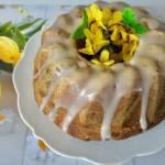 Wielkanocna babka drożdżowa z makiem