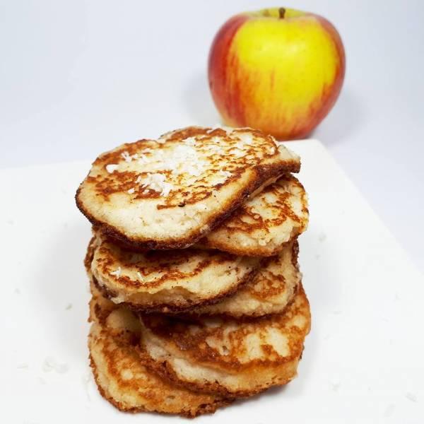 PLACKI Z JABŁKAMI (keto, LCHF, paleo, bez glutenu i laktozy)